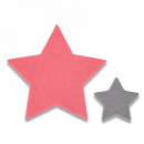 661782 Sizzix Framelits Die Set 2PK - Tiny Stars Mini